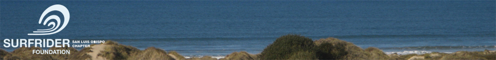 Surfrider San Luis Obispo County Chapter
