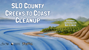 Coastal Cleanup Day Sept 21